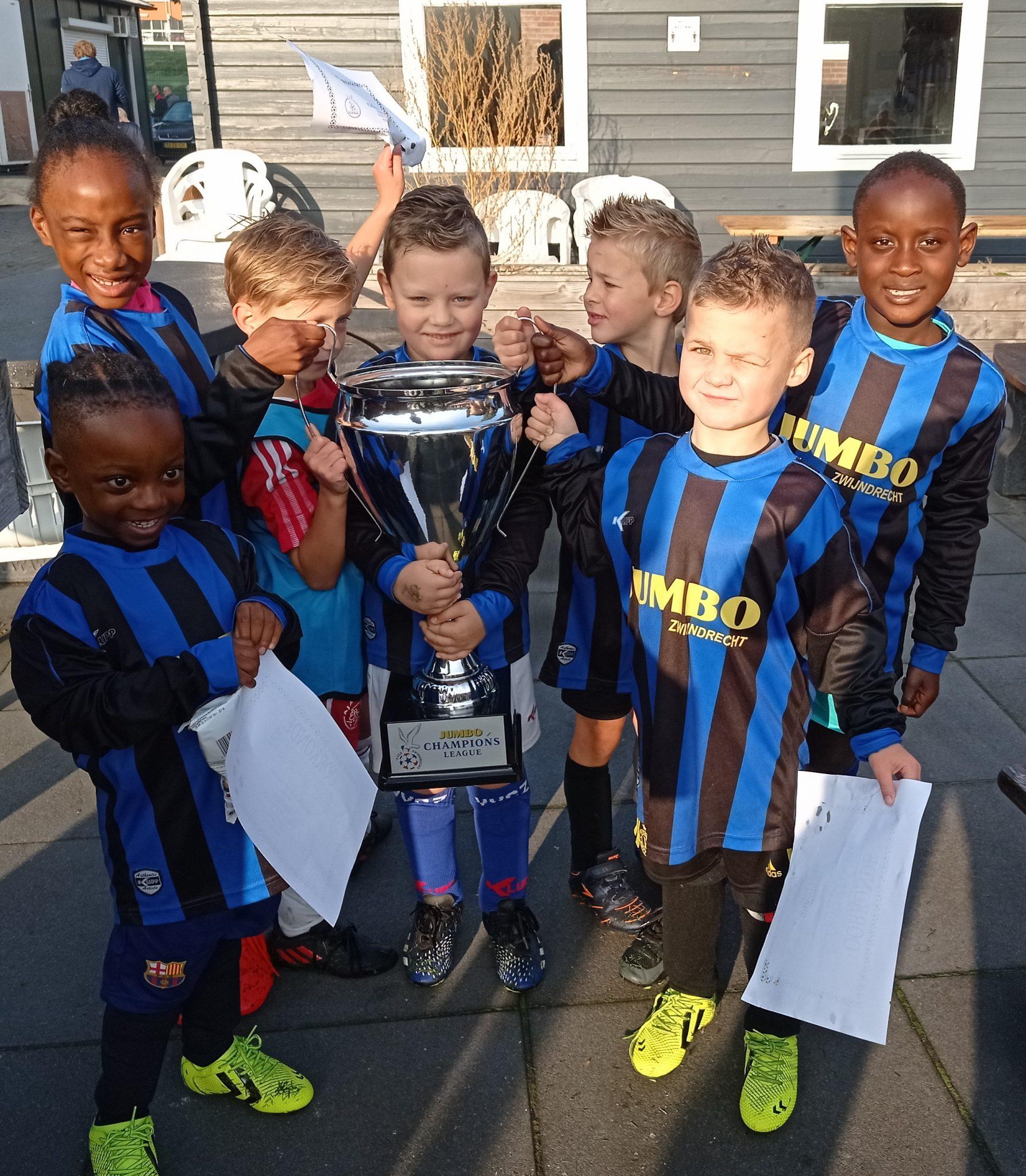 Inter Milaan wint eerste blok Jumbo Champions League
